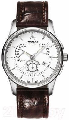 Часы мужские наручные ATLANTIC Seaport Chrono Retrograde 56450.41.21 - общий вид