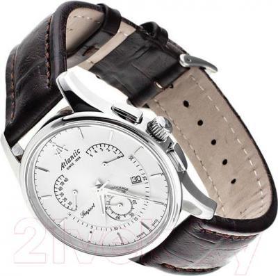 Часы мужские наручные ATLANTIC Seaport Chrono Retrograde 56450.41.21 - вполоборота
