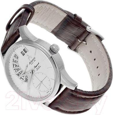 Часы мужские наручные ATLANTIC Seaport Day Date Retrograde 56351.41.21 - вполоборота