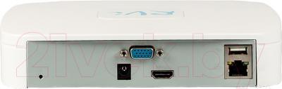 Видеорегистратор наблюдения RVi IPN4/1 - вид сзади