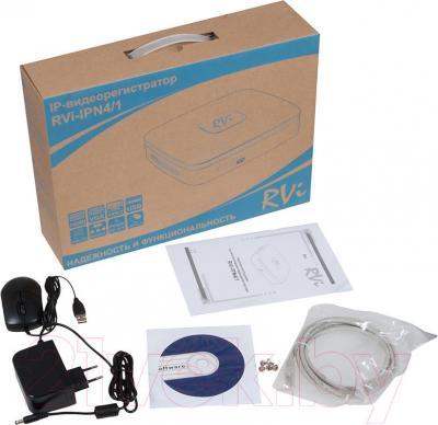 Видеорегистратор наблюдения RVi IPN4/1 - комплектация
