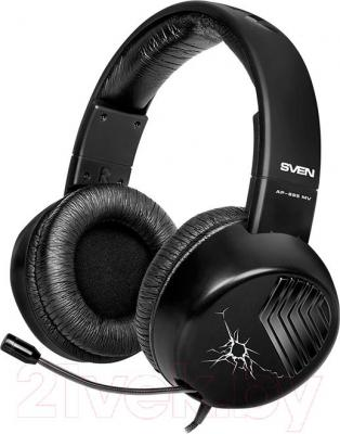 Наушники-гарнитура Sven AP-895MV (черный) - общий вид