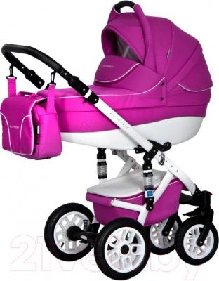 Детская универсальная коляска Expander Essence 2 в 1 (фиолетовый) - общий вид