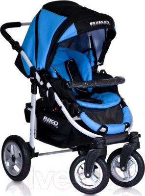 Детская универсальная коляска Riko Amigo (Warm Red) - прогулочная