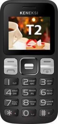 Мобильный телефон Keneksi T2 (черный) - общий вид