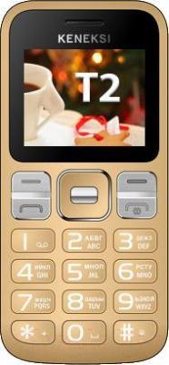 Мобильный телефон Keneksi T2 (золотой) - общий вид