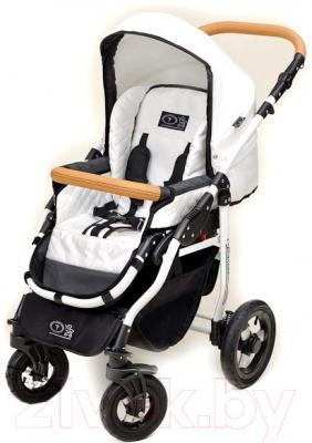 Детская универсальная коляска Dada Paradiso Group Carino 2в1 (White) - прогулочная