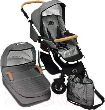 Детская универсальная коляска Dada Paradiso Group Carino 2в1 (Gray) - общий вид