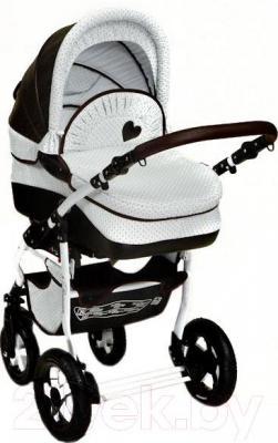 Детская универсальная коляска Dada Paradiso Group Romance Dots 3в1 - общий вид