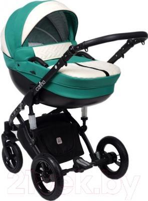 Детская универсальная коляска Dada Paradiso Group Carino New 2в1 (Green)