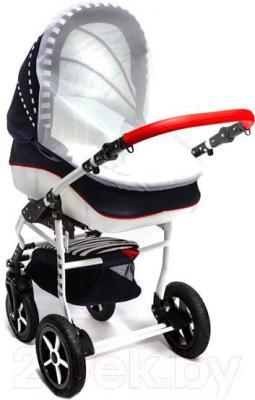 Детская универсальная коляска Dada Paradiso Group Super Sailor 3в1 (Blue) - москитная сетка
