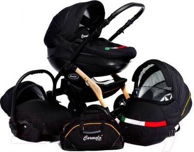 Детская универсальная коляска Dada Paradiso Group Carmelo Design 3в1 (White) - комплектация