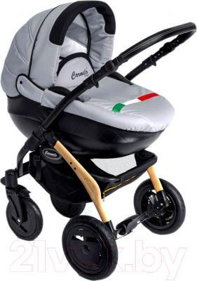 Детская универсальная коляска Dada Paradiso Group Carmelo Design 3в1 (Gray) - общий вид