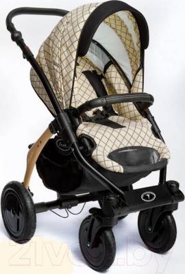 Детская универсальная коляска Dada Paradiso Group Carmelo Design 3в1 (Black) - прогулочная