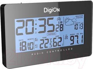 Радиочасы DigiOn PTAOK2813HB - общий вид