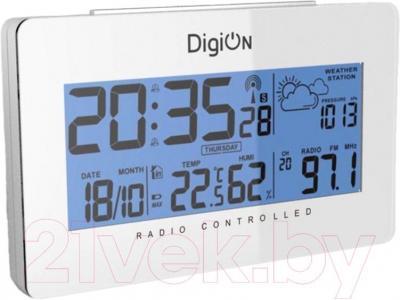 Радиочасы DigiOn PTAOK2813HW - общий вид