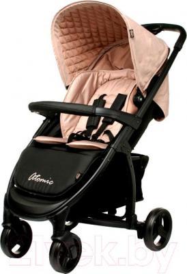 Детская прогулочная коляска 4Baby Atomic (бежевый) - общий вид