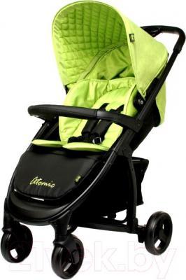 Детская прогулочная коляска 4Baby Atomic (зеленый) - общий вид