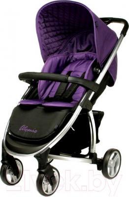Детская прогулочная коляска 4Baby Atomic (фиолетовый) - общий вид