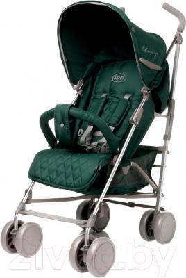 Детская прогулочная коляска 4Baby LeCaprice (зеленый) - общий вид