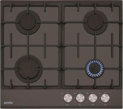 Газовая варочная панель Simfer H60H40B501 - общий вид