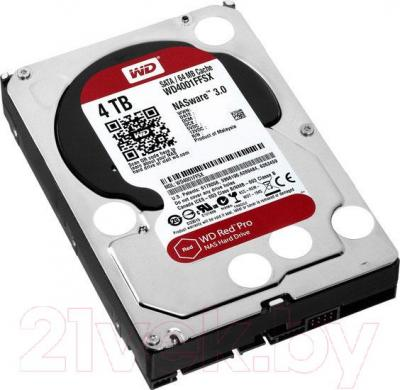 Жесткий диск Western Digital Red Pro 4TB (WD4001FFSX) - общий вид