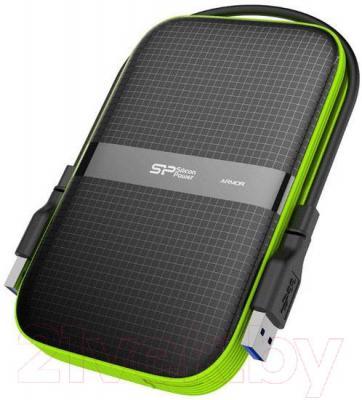 Внешний жесткий диск Silicon Power Armor A60 500GB (SP500GBPHDA60S3K) - общий вид