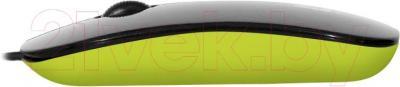 Мышь Defender NetSprinter 440 / 52446 (черно-зеленый) - вид сбоку