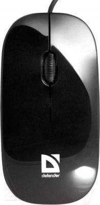 Мышь Defender NetSprinter 440 / 52445 (черно-фиолетовый) - вид сверху