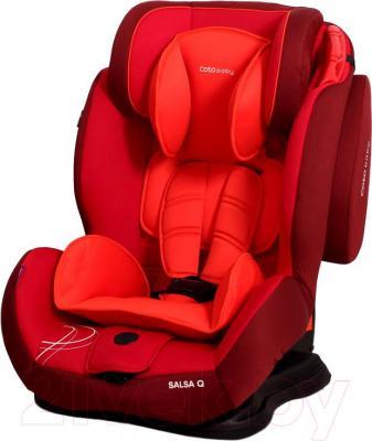 Автокресло Coto baby Salsa Q (Red) - общий вид
