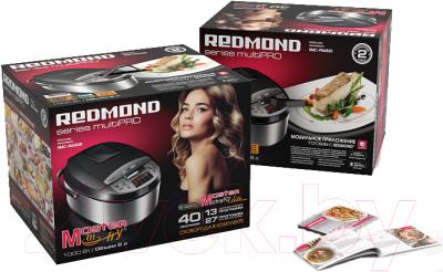 Мультикухня Redmond RMC-FM4520 (черный) - Коробка + Рецепты