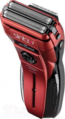 Электробритва Sinbo SS-4031 (красный) - общий вид