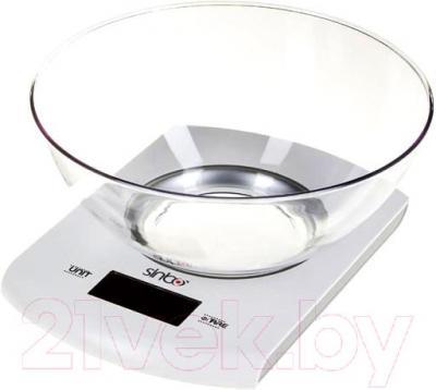 Кухонные весы Sinbo SKS-4518 (серебристый) - общий вид