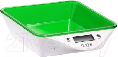 Кухонные весы Sinbo SKS-4520 (зеленый) - общий вид