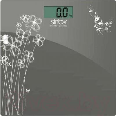 Напольные весы электронные Sinbo SBS 4429 (Gray) - общий вид