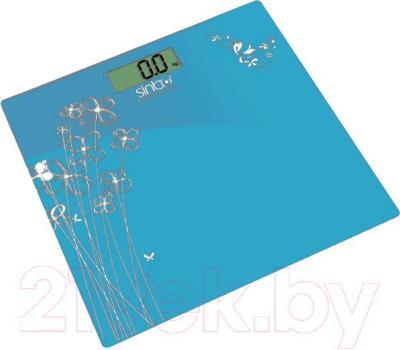 Напольные весы электронные Sinbo SBS 4429 (синий) - общий вид