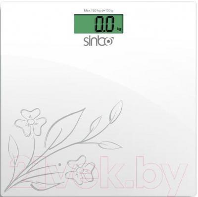 Напольные весы электронные Sinbo SBS-4421 (белый) - общий вид