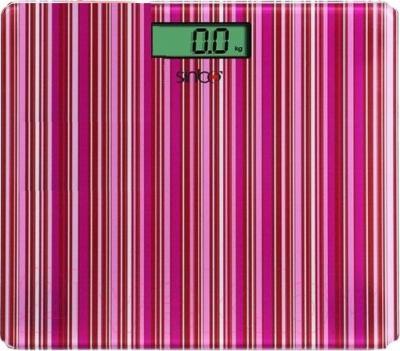 Напольные весы электронные Sinbo SBS 4427 (бордовая полоска) - общий вид