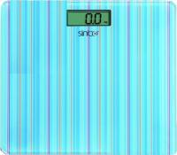 Напольные весы электронные Sinbo SBS 4427 (голубая полоска) -