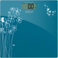 Напольные весы электронные Sinbo SBS 4427 (голубой) -