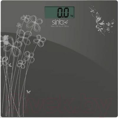 Напольные весы электронные Sinbo SBS 4427 (серый) - общий вид