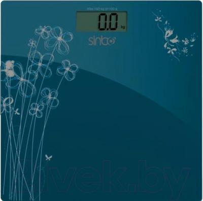 Напольные весы электронные Sinbo SBS 4427 (темно-синий) - общий вид