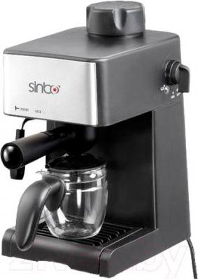 Кофеварка эспрессо Sinbo SCM 2925 (серебристый) - общий вид