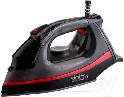 Утюг Sinbo SSI-2872 (черно-красный) - общий вид