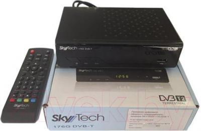 Тюнер цифрового телевидения Skytech 176G DVB-T - с пультом и упаковкой