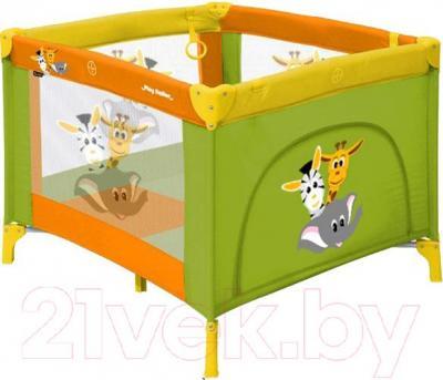 Игровой манеж Lorelli Play Station (Multicolor Safari) - общий вид