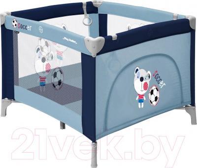Игровой манеж Lorelli Play Station (Blue Soccer) - общий вид