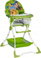 Стульчик для кормления Lorelli Bravo Green Jungle (10100061622) -