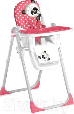 Стульчик для кормления Lorelli Siesta (Pink Panda) - общий вид