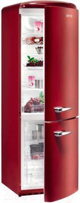 Холодильник с морозильником Gorenje RK60359OR - общий вид